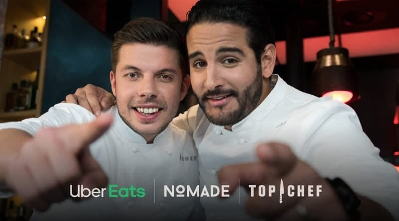 Top Chef Nomade Cheikh Marc Uber Eats