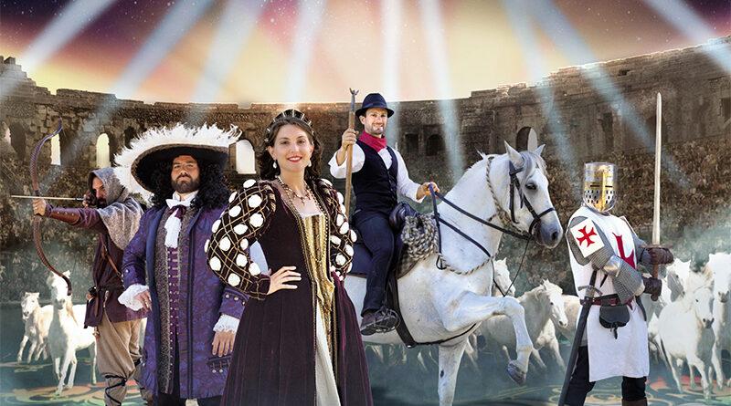 Arènes de Nîmes Les Nuits de Nemaus 2021 spectacle