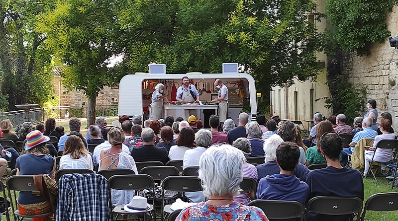 La Cuisine des auteurs Jérôme Pouly Festival Molière Pézenas © Peter Avondo - Snobinart