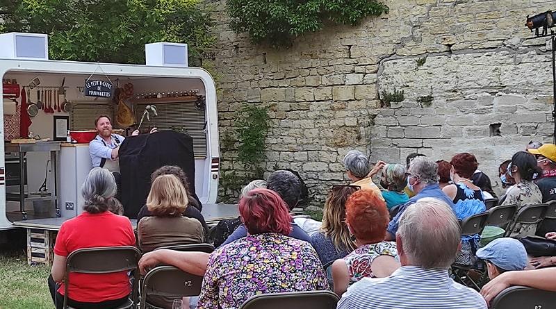 Pézenas Festival Molière Cuisine des Auteurs Marionnettes © Peter Avondo - Snobinart