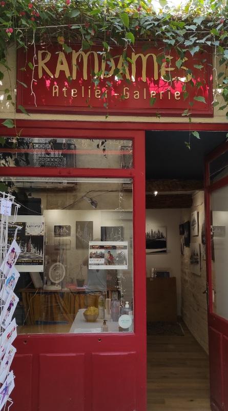 Ramdames Atelier Galerie Rue Roucher Montpellier © Peter Avondo - Snobinart