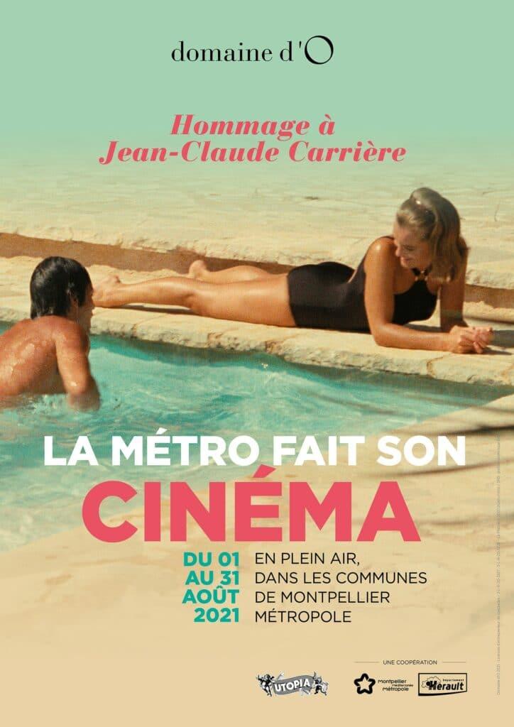 Affiche La Métropole fait son cinéma La Piscine Deray