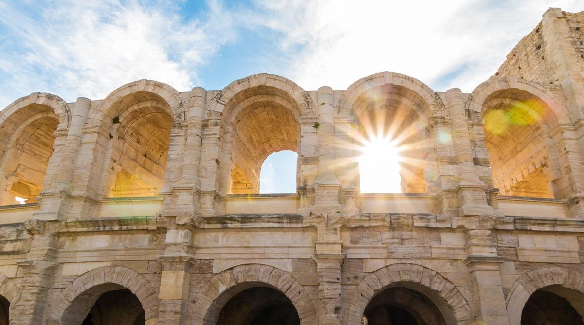 Le Pays d'Arles nommé Capitale Provençale de la Culture 2022 Amphithéâtre