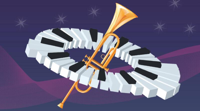 Affiche 18e festival du jazz de Lunel du 5 au 7 août 2021
