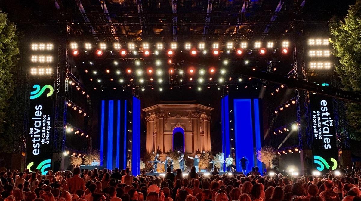 Nuits du Peyrou Montpellier Estivales de Culturebox sur France 2 TV