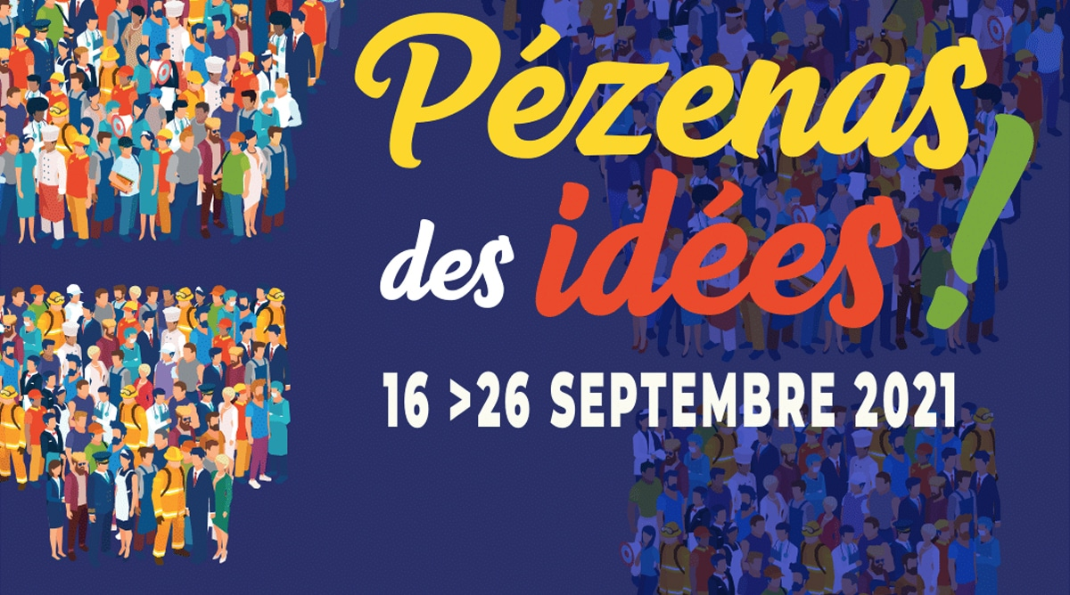 """Première édition pour le festival """"Pézenas des idées !"""""""