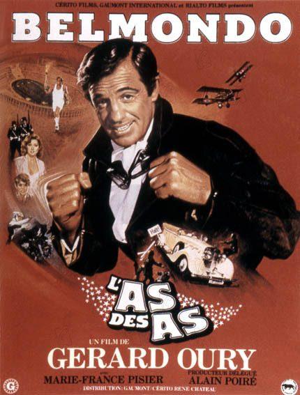 Top 10 des films de Belmondo - L'As des as