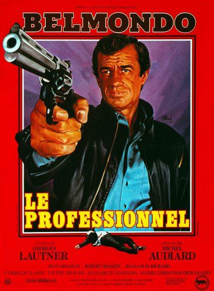 Top 10 des films de Belmondo - Le Professionnel